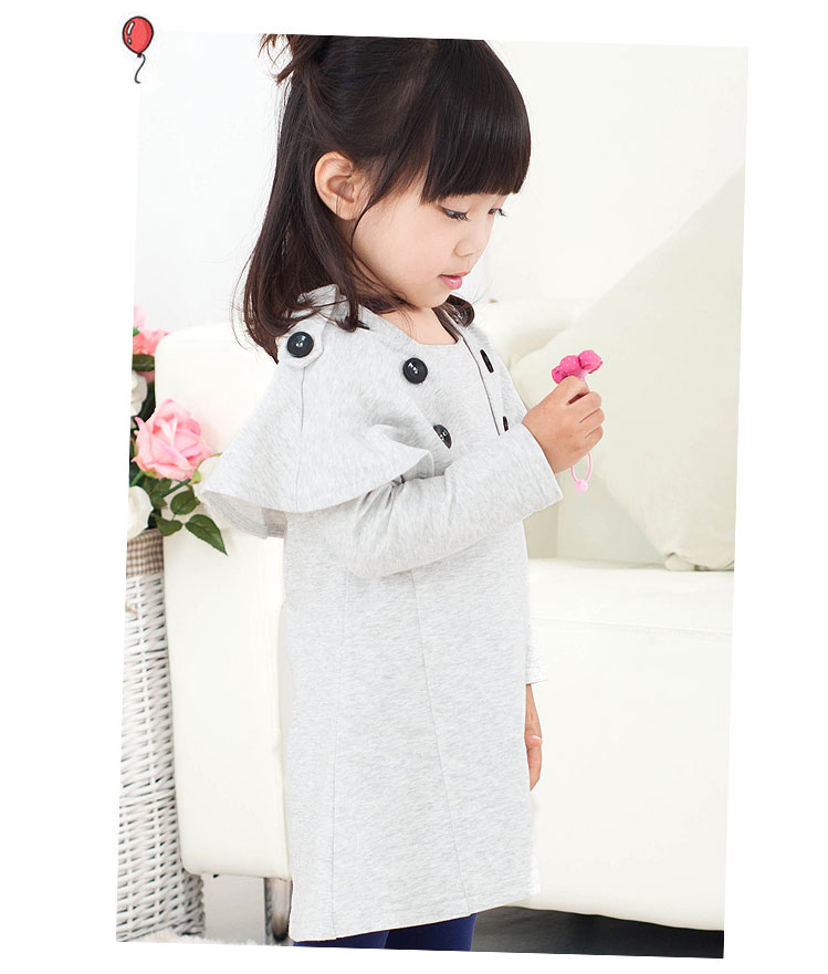 Esbeeli ESBEELI Korean version of the 2012 spring children's wear new girl dress children dresses