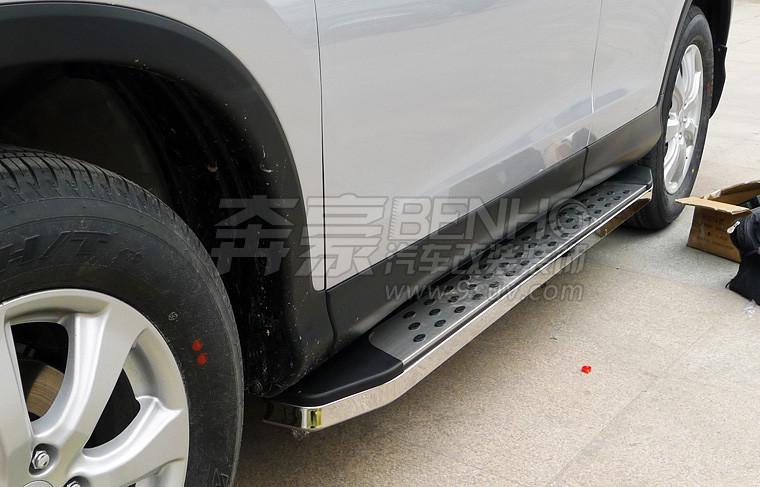2012款CRV改装 踏板 12款本田CRV原厂侧踏板 CRV脚踏板 侧杠 4S正品