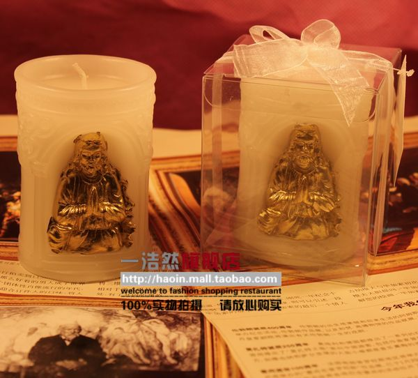 Haoin European-style Buddhist worship Buddha candle supplies candle candle European smokeless candle craft candle