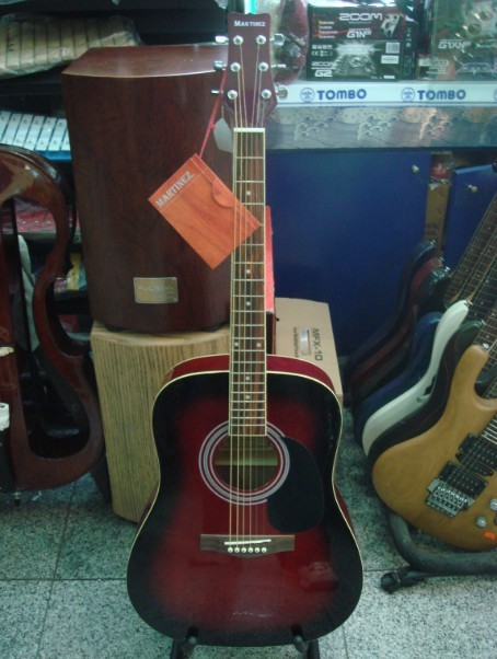 Гитара акустическая martinez faw-701