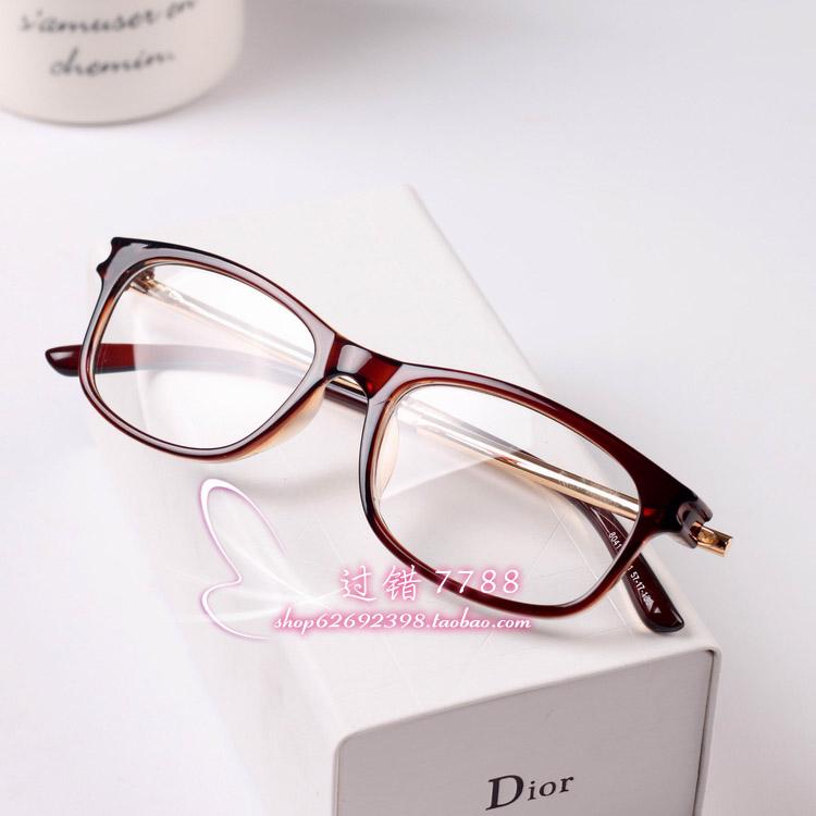 Оправа для очков Лес Бенд ретро очки металлический ящик с близорукость людей мужчин и женщин не мейнстримовых кадры плиты плоские зеркала