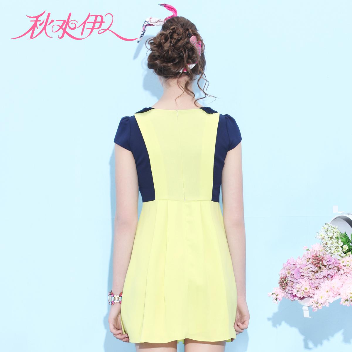 Женское платье Qiushuiyiren 632102129 2013