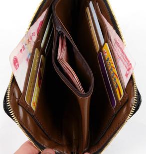 бумажник 包包2014新款潮包女韩版手包女士长款钱包零钱包菱格手拿包手机包
