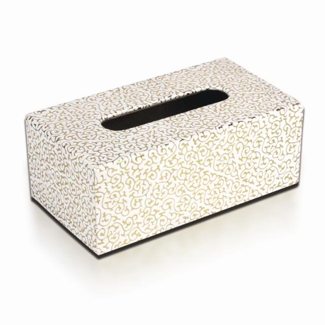 品地白底金花欧式皮革可爱创意椭圆形遥控器收纳盒文具杂物收纳盒12