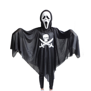 Halloween Decorations Ghost & Pirate Clothes