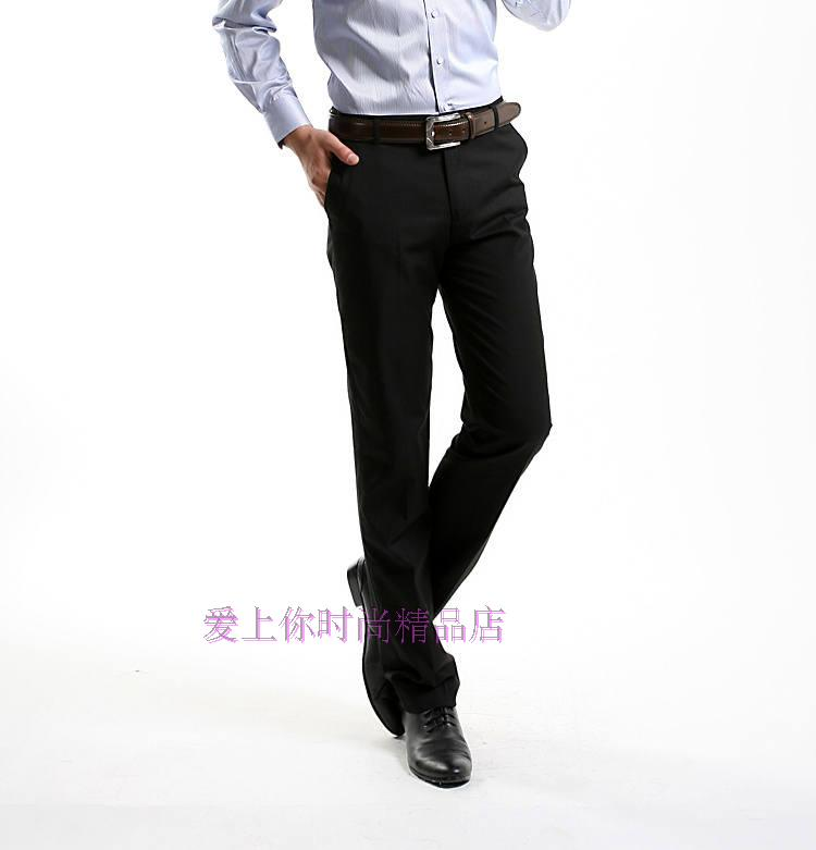 G2000 genuine business trousers men trousers are decorated body type plain black pants suit pants Shuwen