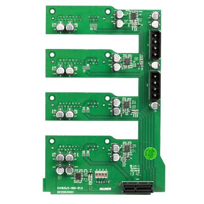 独立开关 USB3.0 四盘位外置硬盘盒柜 CRCH35U3IS4 世特力裸族 Century