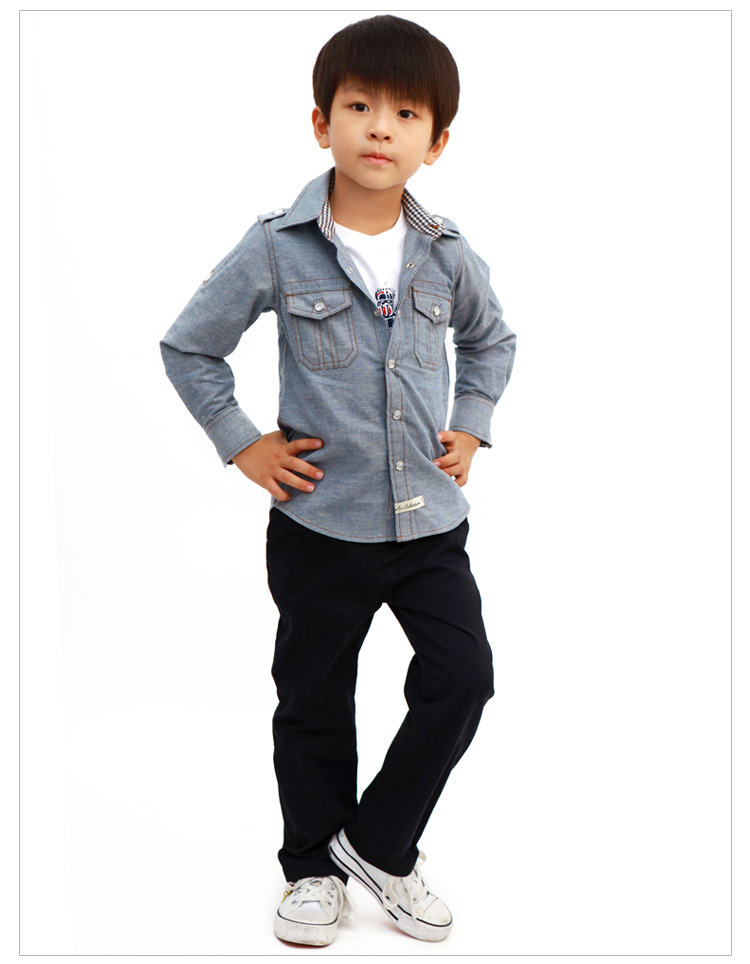 British baby spring 2013 Goeuriot boys trousers children's clothing casual pants kids dress Korean child costume new