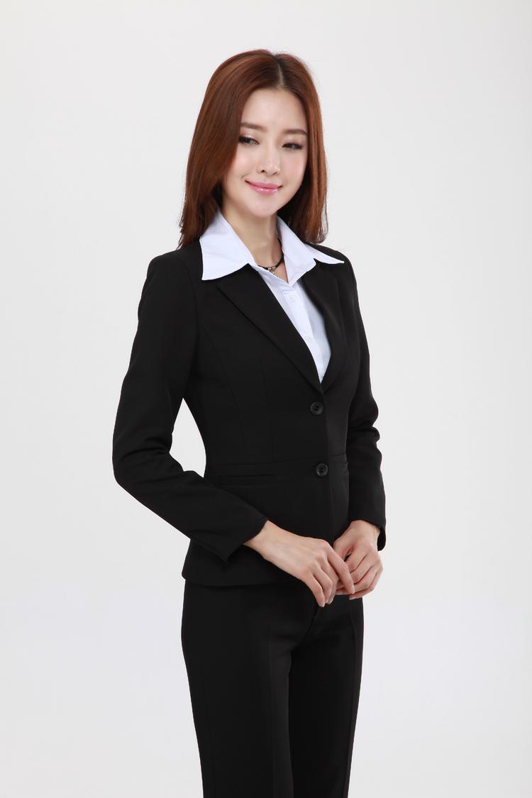 Офисный костюм Бай Линг поставить новые работы OL наборы для Осень/Зима Женская мода Корейский дамы являются комбинезон женский костюм