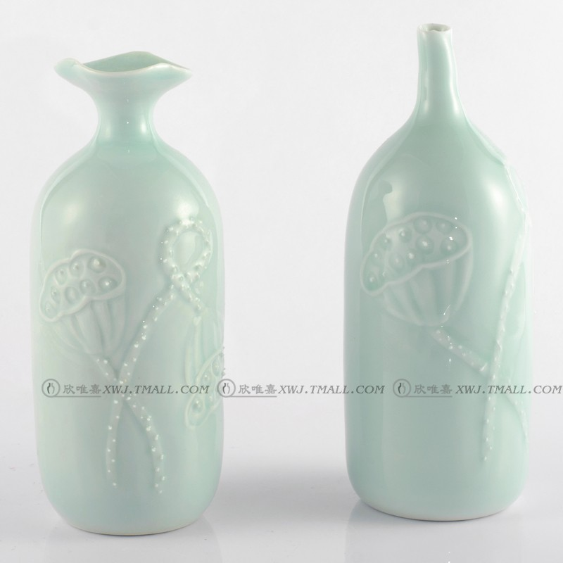 Yan Wei-jia Modern Ceramic Crafts Creative Living Room Home Decoration Vase