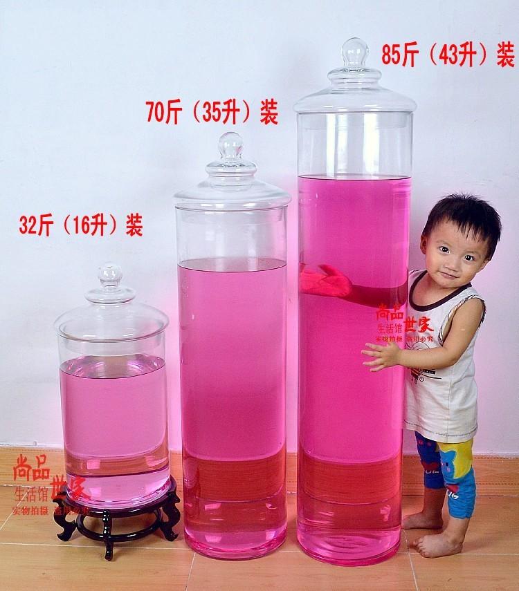 Герметичная банка 大容量 泡酒瓶 无铅 玻璃 酿酒瓶 泡酒罐 储物罐 密封罐 带龙头