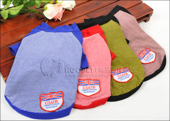 Hoopet o Spring and summer pet dog clothes Teddy spring and summer sailor suit spring clothes to buy 2 section