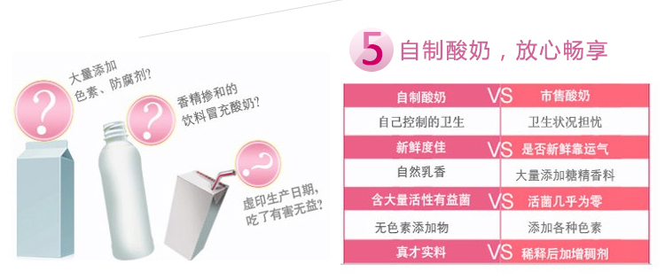 Happy a bite Happy one bite SNJ - 410 ceramic liner Microcomputer yogurt rice wine machine 1 years free replacement machine