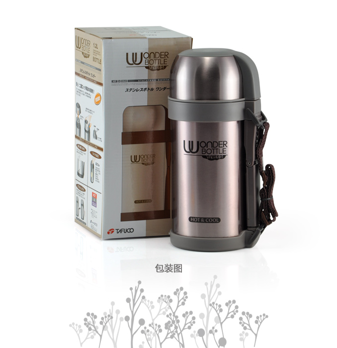 Tefo high 1100 authentic Japanese Dyford high 1.2L stainless steel vacuum flask thermos thermos pot