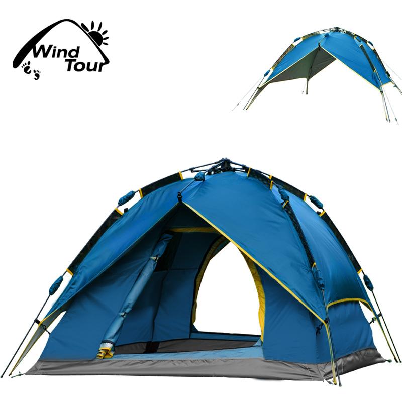 Палатки кемпинговые, горные Wind tour wt123456 WindTour Wind tour/weidirui