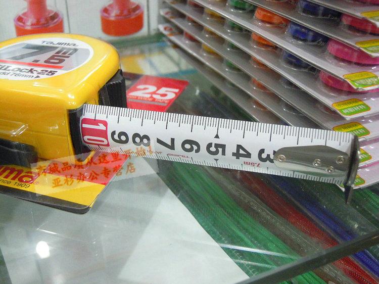 TianDao Long Steel Manual Adjustable Measure Tape