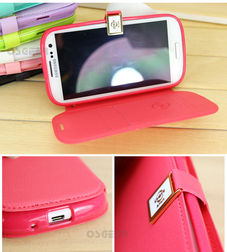 Neozeet Leather case moblie phone for Samsung  i9300