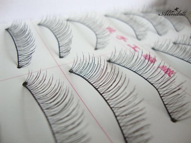 Alinda Pure hand-made cotton stalk natural nude make-up short eyelashes 216