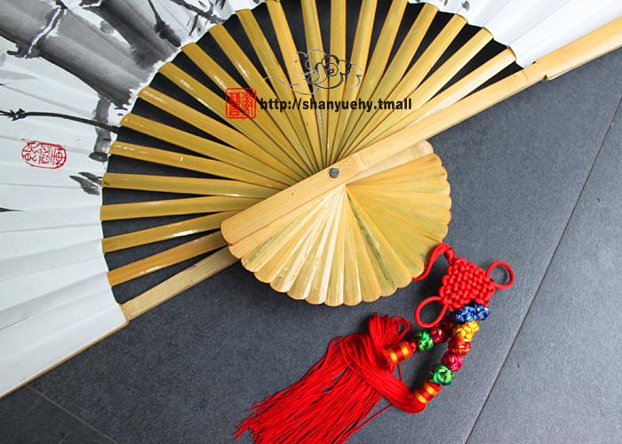 Китайский веер своими руками на стену