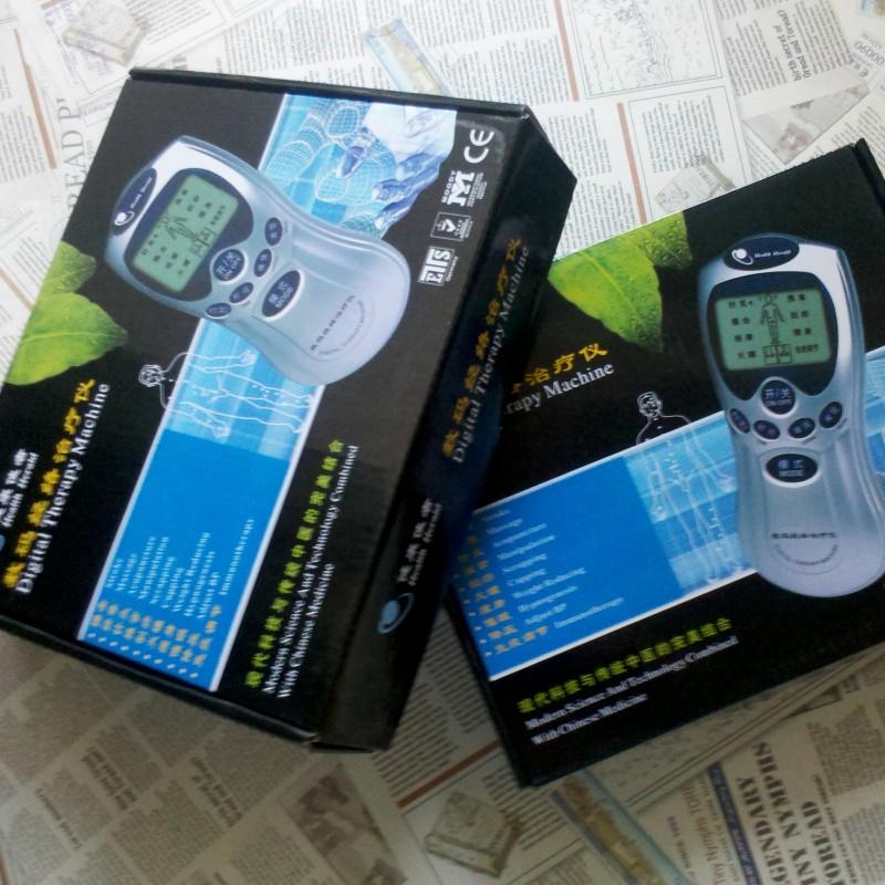 Аппарат для домашней физиотерапии Здравоохранения Messenger дома цифровой меридиана терапии инструмент электронной акупунктуры массаж терапии машинного оборудования