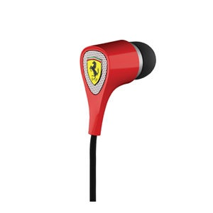 Наушники Ferrari Scuderia S100I Noise Isolating Earphone Ferrari