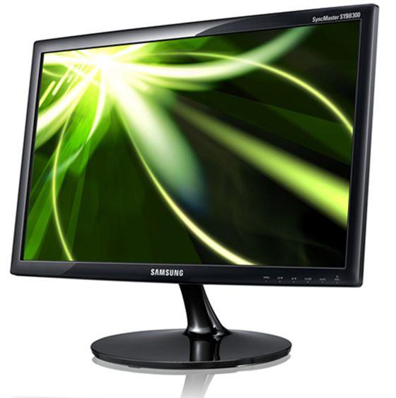 ЖК-монитор Samsung  S19B300NW 19 LED A+