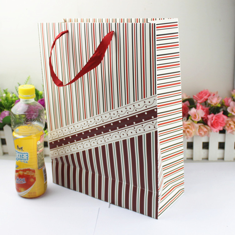 Wedding return a salute tether gift bag paper bag large Korean style bags gift bags