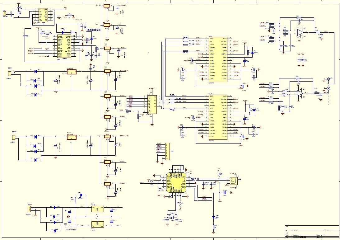 rca to coaxial schematic dac 2 dir9001 pcm2706 wm8740x2 opa627 usb    to coaxial    and  dac 2 dir9001 pcm2706 wm8740x2 opa627 usb    to coaxial    and