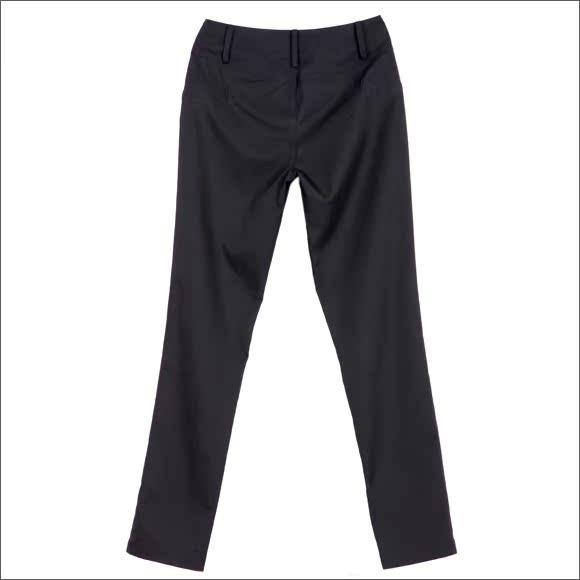 纤步轻盈 O.SA2011新 亚光斜纹 微锥裤型 小脚长裤