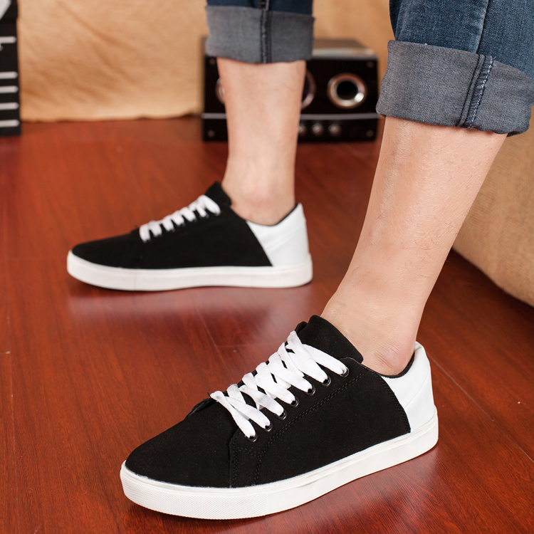 Демисезонные ботинки Весны мужчин Обувь повседневная мужчины обувь мужчин корейской версии что текущие и новые воды дышащей обуви мужская обувь в лесу летом изогнутые волны обувь