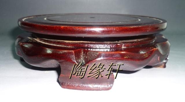Поддон под цветы Цзиндэчжэнь, повернул деревянные вазы керамические аксессуары лоток Ваза Цветочный лоток