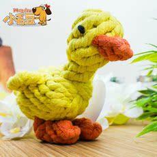 веревочная узловая игрушка Small yellow duck
