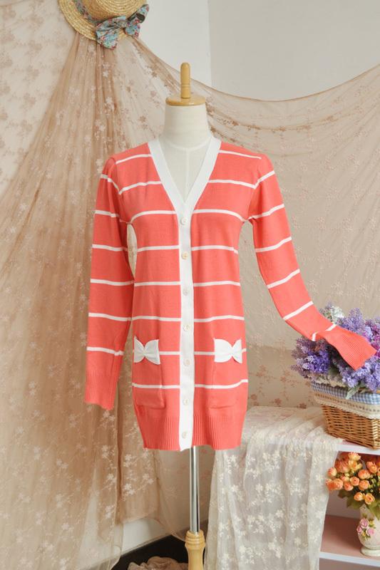 秋天针织衫时装搭配图片(2)