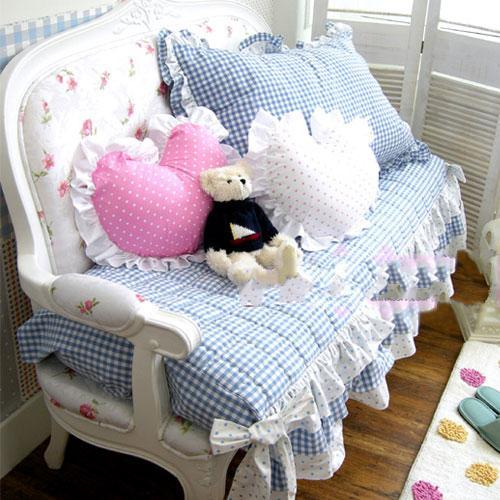 童话里的公主居室16款女孩最爱粉嫩田园椅 - 木风 - 装饰新趋势