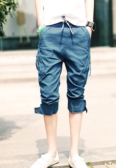 短裤男士服装搭配图片(4)