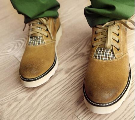 夏天鞋子男士时装搭配图片(6)
