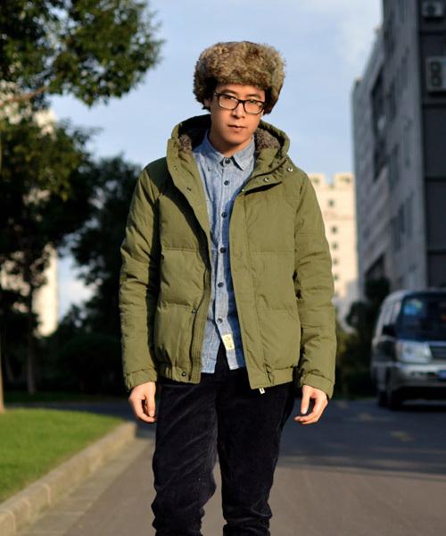 冬天外套时尚男装怎么搭配(8)