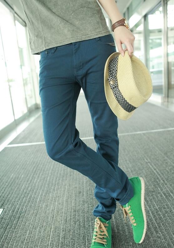 秋季裤子服装搭配图片(4)