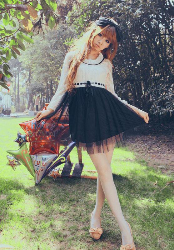 2015夏天连衣裙穿衣搭配图片(3)