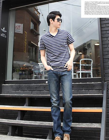 韩国风格男装搭配技巧
