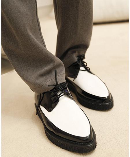 冬天鞋子时尚男装怎么搭配(2)