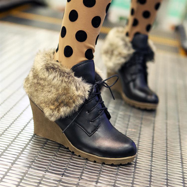2015冬天靴子服饰怎么搭配(4)