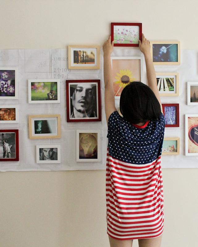 麦朵照片墙DIY